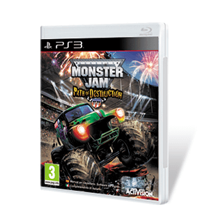 Monster Jam: Path of Destruction + volante