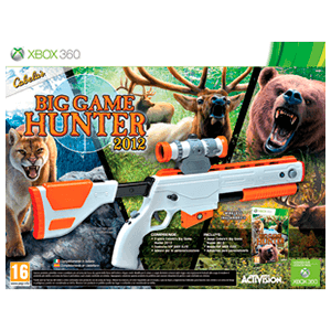 Cabela's Big Game Hunter 2012 + Rifle