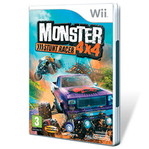 Monster 4X4 Stunt Racer + WII Wheel