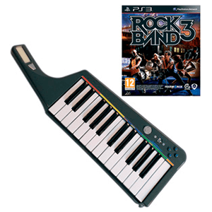 Rock Band 3 + Teclado Wireless