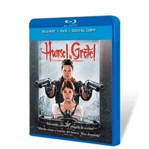 Hansel & Gretel Cazadores de Brujas Bluray + DVD