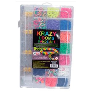 Maletín Krazy Looms Bandz Set(Plantilla+3000gomas)