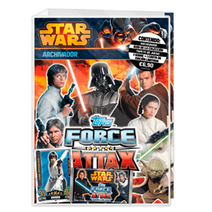 Álbum TC Star Wars Force Attax