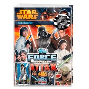 Álbum TC Star Wars Force Attax