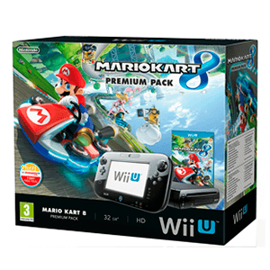 WiiU 32Gb Negra + Mario Kart 8