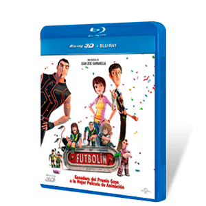 Futbolin Bluray + Bluray 3D