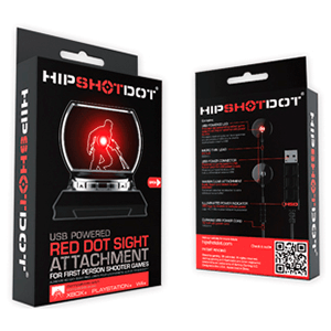 Hip Shot Dot: Puntero LED para FPS