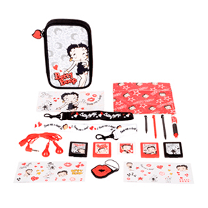 Kit Accesorios 16 en 1 Betty Boop 2014 3DS-3DSXL
