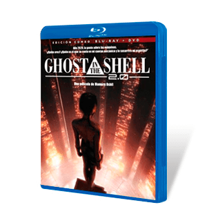 Ghost in the Shell 2.0 Edicion 20 Aniversario Bluray + DVD
