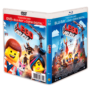 La Lego Película Bluray + DVD + Copia Digital
