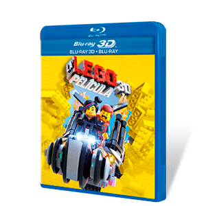 La Lego Película Bluray + Bluray 3D + Copia Digital