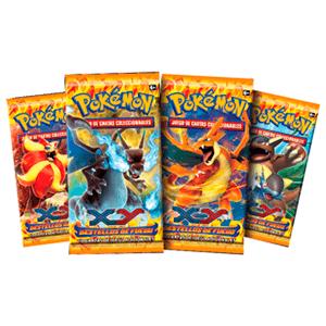 Sobre 10 cartas Pokemon XY Destellos de Fuego