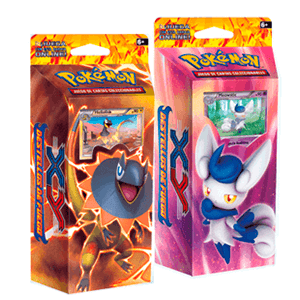 Baraja 60 cartas Pokemon XY Destellos de Fuego