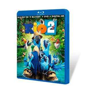 Rio 2 Bluray + DVD