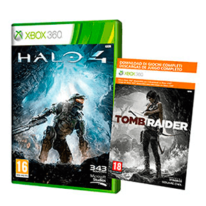 Token Halo 4 + Tomb Raider