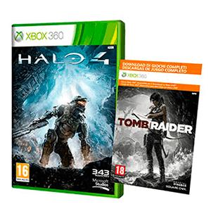 Token Halo 4 + Tomb Raider