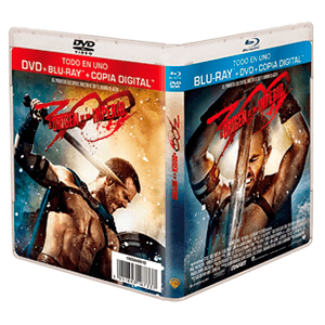 300 El Origen de un Imperio Bluray + DVD + Copia Digital