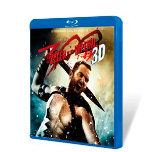 300 El Origen de un Imperio Bluray + Bluray 3D