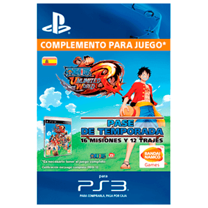 One Piece: Unlimited World Season Pass (PS3)