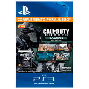 Call of Duty Ghosts: Invasion (PS3)