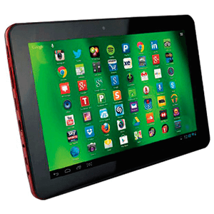 "Tablet Hannspree 10,1"" IPS Quad Core 16Gb Roja"