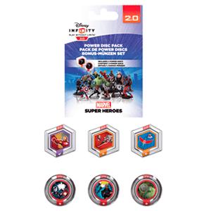 Disney Infinity 2.0 Power Discs Serie 1 Marvel