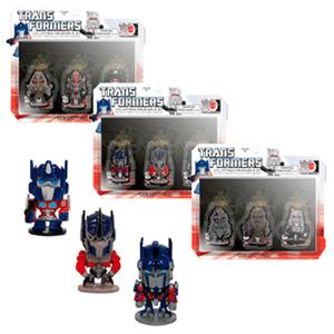 Transformers 4cm Pack 3 figuras Serie 1