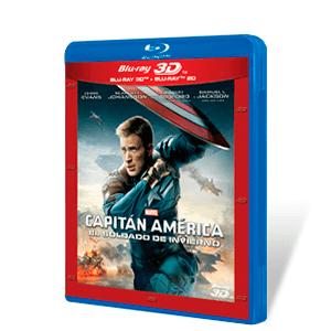 Capitán América El Soldado de Invierno Bluray + Bluray 3D