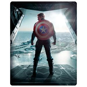 Capitán América El Soldado de Invierno Bluray en Steelbook