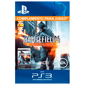 x Battlefield 4™ Dragon's Teeth (PS3)