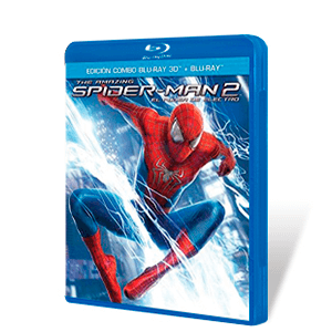 The Amazing Spiderman 2 Bluray + Bluray 3D