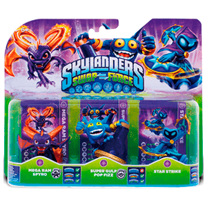 Skylanders Swap Force Triple Pack Magic: Spyro + Pop Fizz + Star Strike