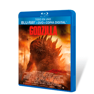 Godzilla 2014 Bluray + DVD + Copia Digital