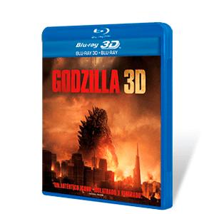 Godzilla 2014 Bluray + Bluray 3D