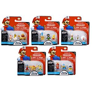 Pack de 3 Microfiguras Mario 2cm Serie 2
