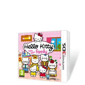 Hello Kitty Happy Happy Family + Funda