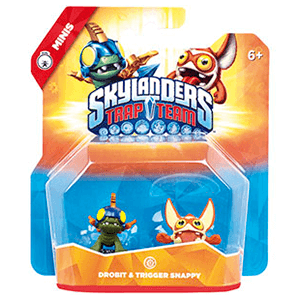 Figura Skylanders Trap Team Minis: Drobit-Snappy