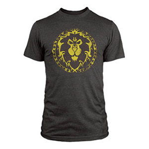 "Camiseta World of Warcraft ""Escudo de la Alianza"" Talla M"