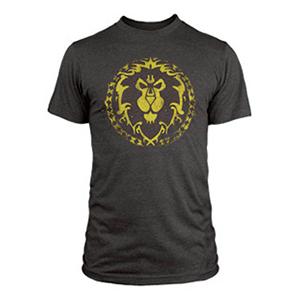 "Camiseta World of Warcraft ""Escudo de la Alianza"" Talla XL"
