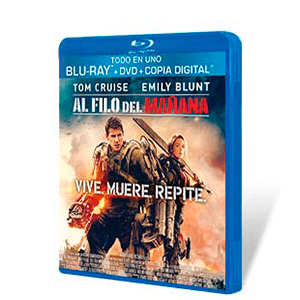 Al Filo del Mañana Bluray + DVD + Copia Digital