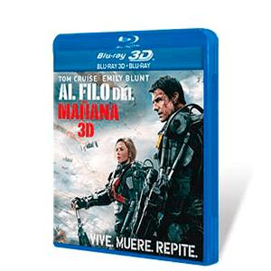 Al Filo del Mañana Bluray + Bluray 3D