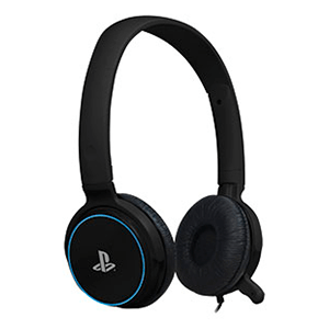 Auriculares 4Gamers CP-01 Azul -Licencia Oficial Sony-