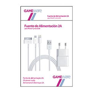 Fuente Alimentación 2A smartphone GAMEware