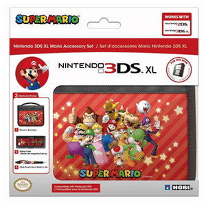 Mario Accessory Set Hori 3DSXL -Licencia oficial Nintendo-