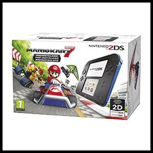 Nintendo 2DS Azul + Mario Kart 7 (Preinstalado)