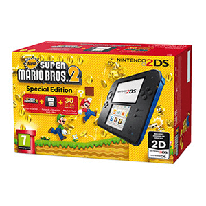 Nintendo 2DS Azul + New Super Mario Bros 2