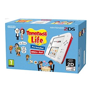 Nintendo 2DS Roja + Tomodachi (Preinstalado)