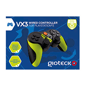 Controller Gioteck VX3 Wired Sport PS3-PC