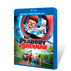 Las Aventuras de Mr. Peabody & Sherman Bluray + DVD
