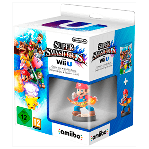 Super Smash Bros + Amiibo Mario